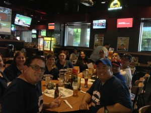 AMM Team @ Buffalo Wild Wings after a Win.  (2013)