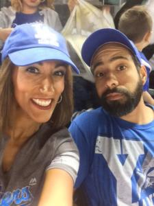 Silvya Bro Annual Dodgers Game Night