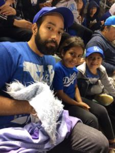 Silvya Bro Family Annual Dodgers GameNight 2017