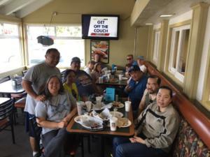 The SBCASL RTPizzaFundraiser GroupShot 2017